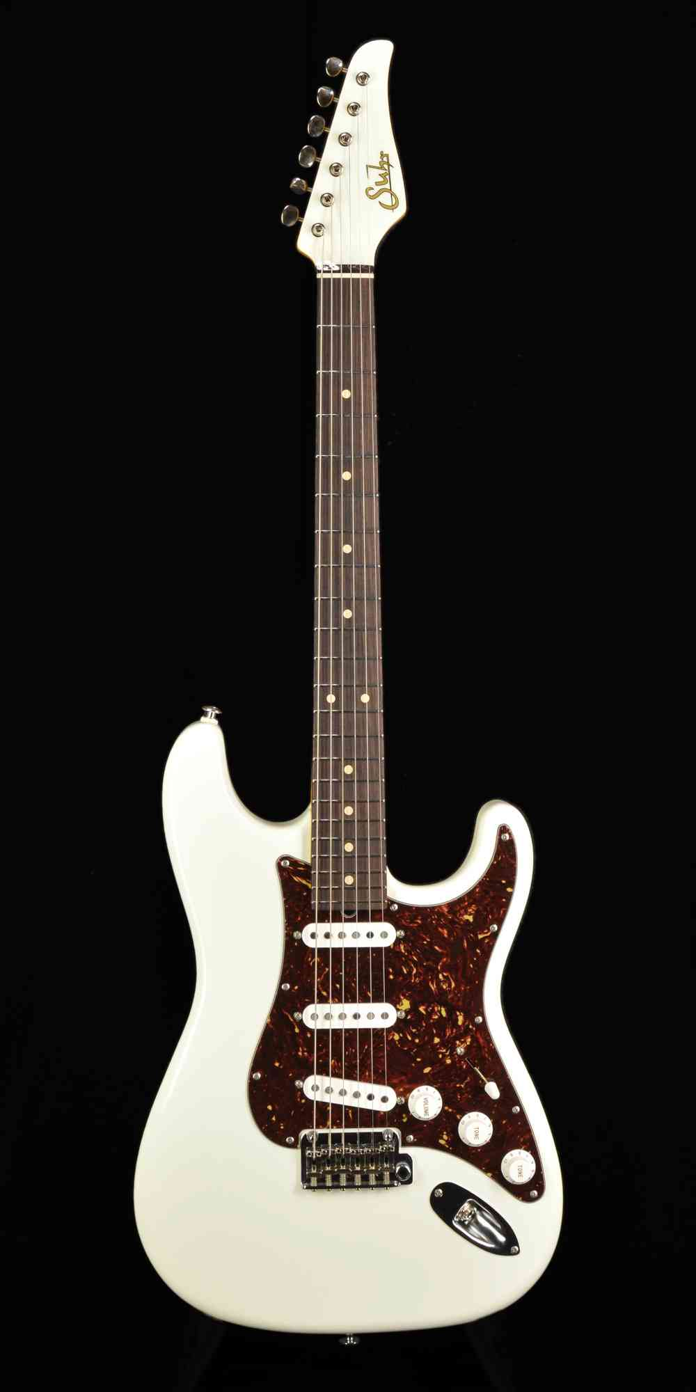 Suhr Classic 2010 Olympic White. Click to enlarge