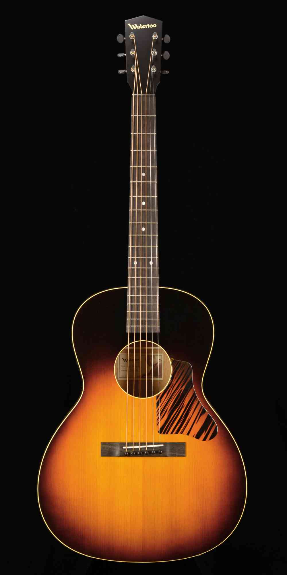 Waterloo WL-14X SB aged top  Sunburst. Click to enlarge