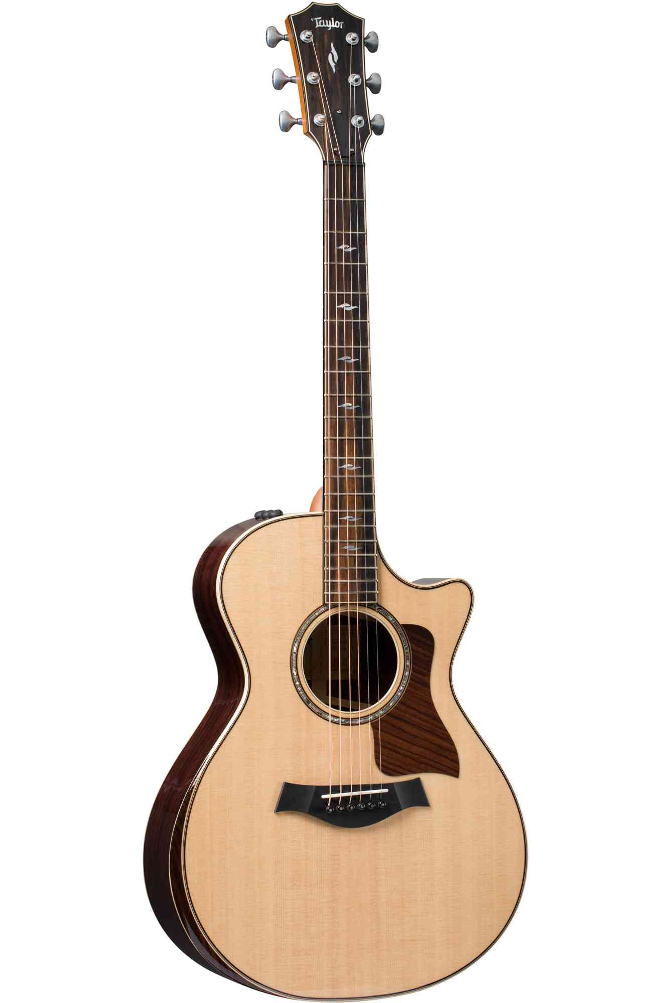 Front view of Taylor 812ce DLX  Natural