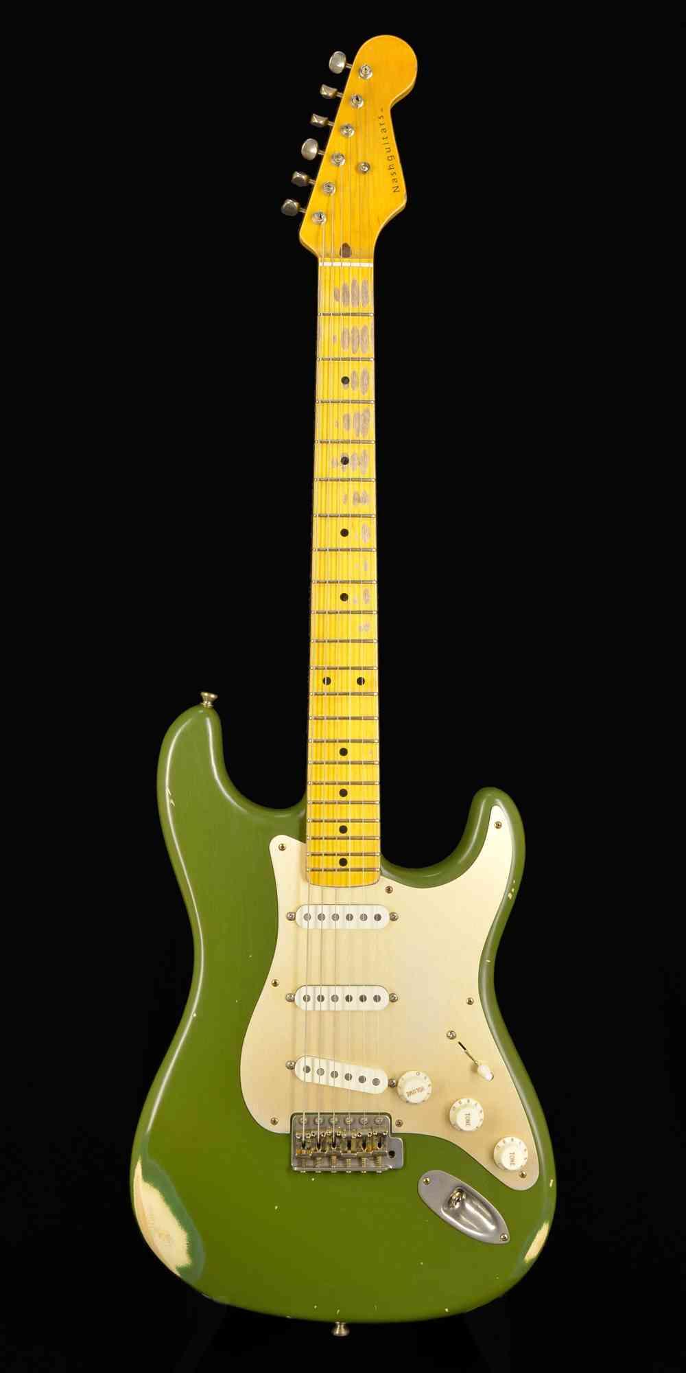 Nash S/57  Olive Green. Click to enlarge