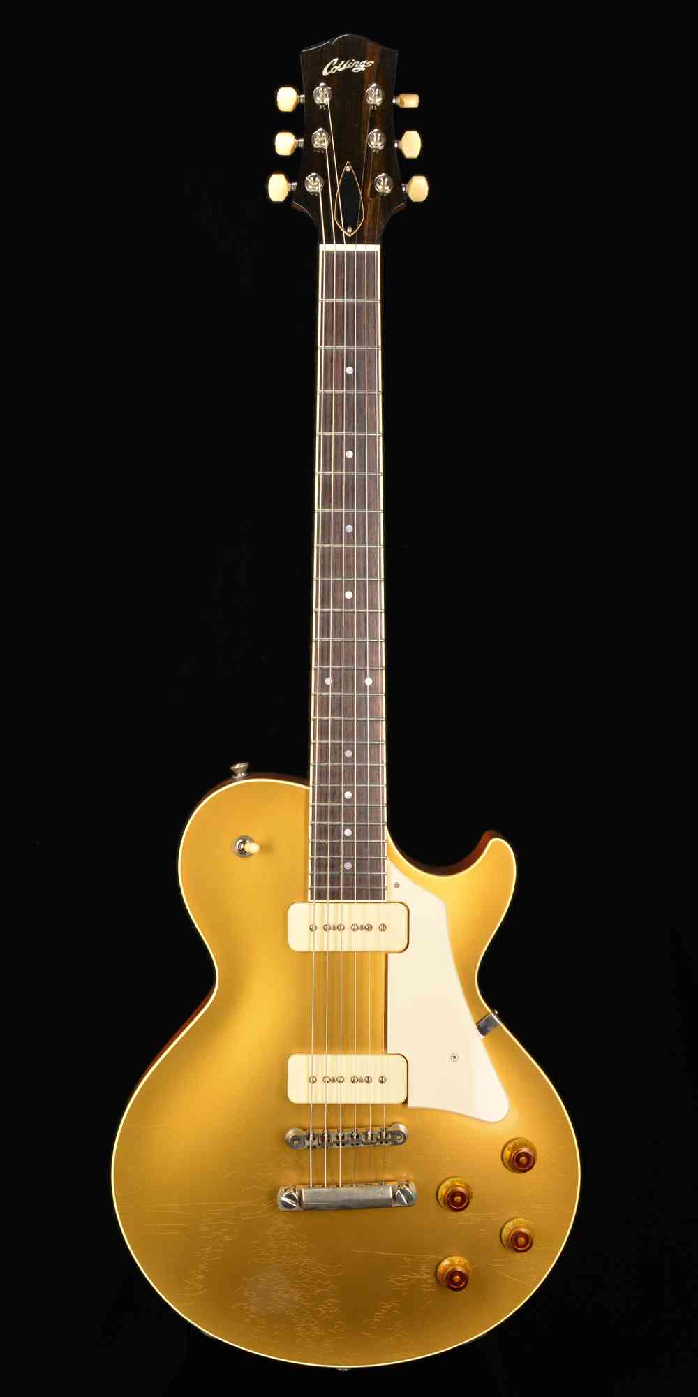 Collings City Limits 2019 Gold Top Aged. Click to enlarge