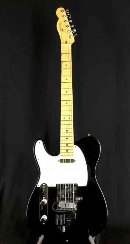 Photo of Fender Lefty Telecaster 1995 Black