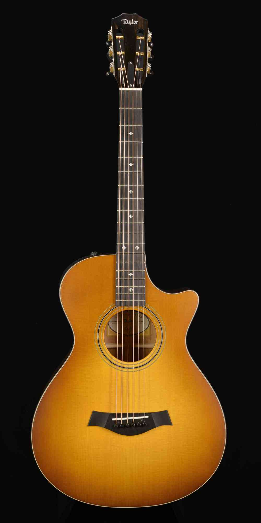 Taylor 312ce 12-Fret LTD  Western Sunburst. Click to enlarge