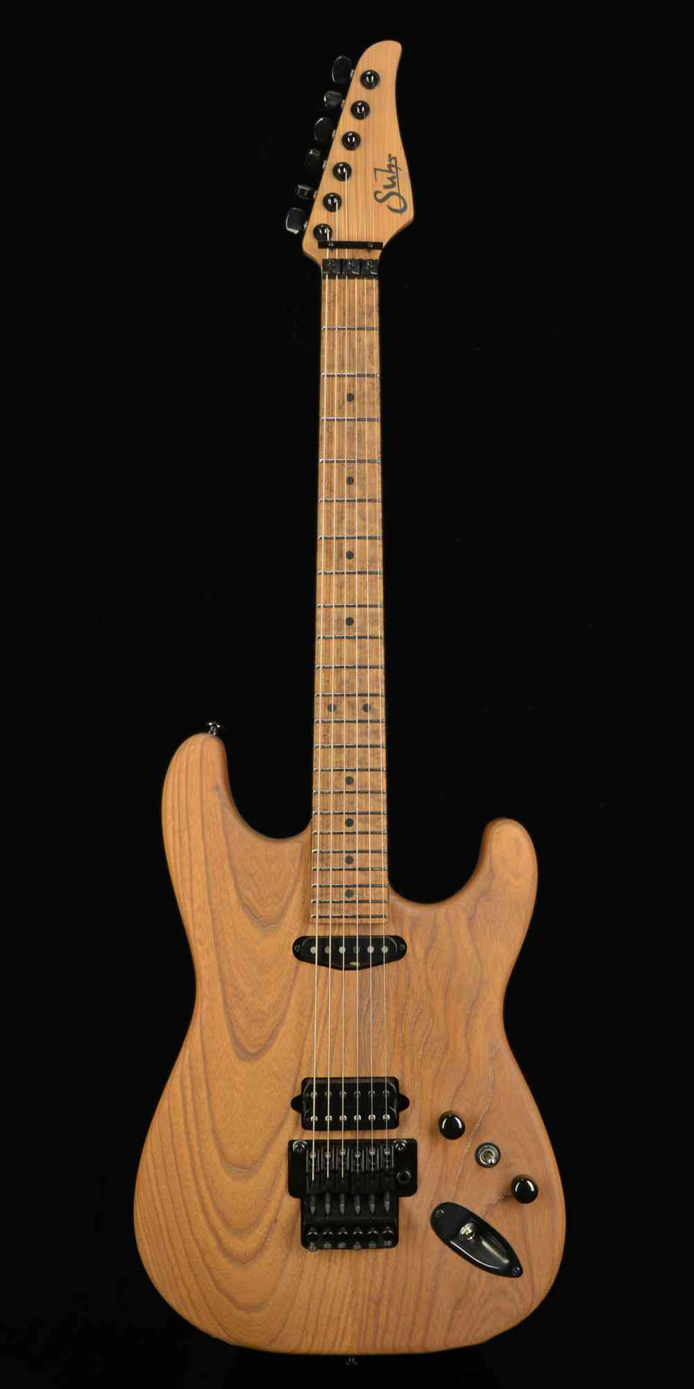 Front view of Suhr Classic Custom 2017 Natural