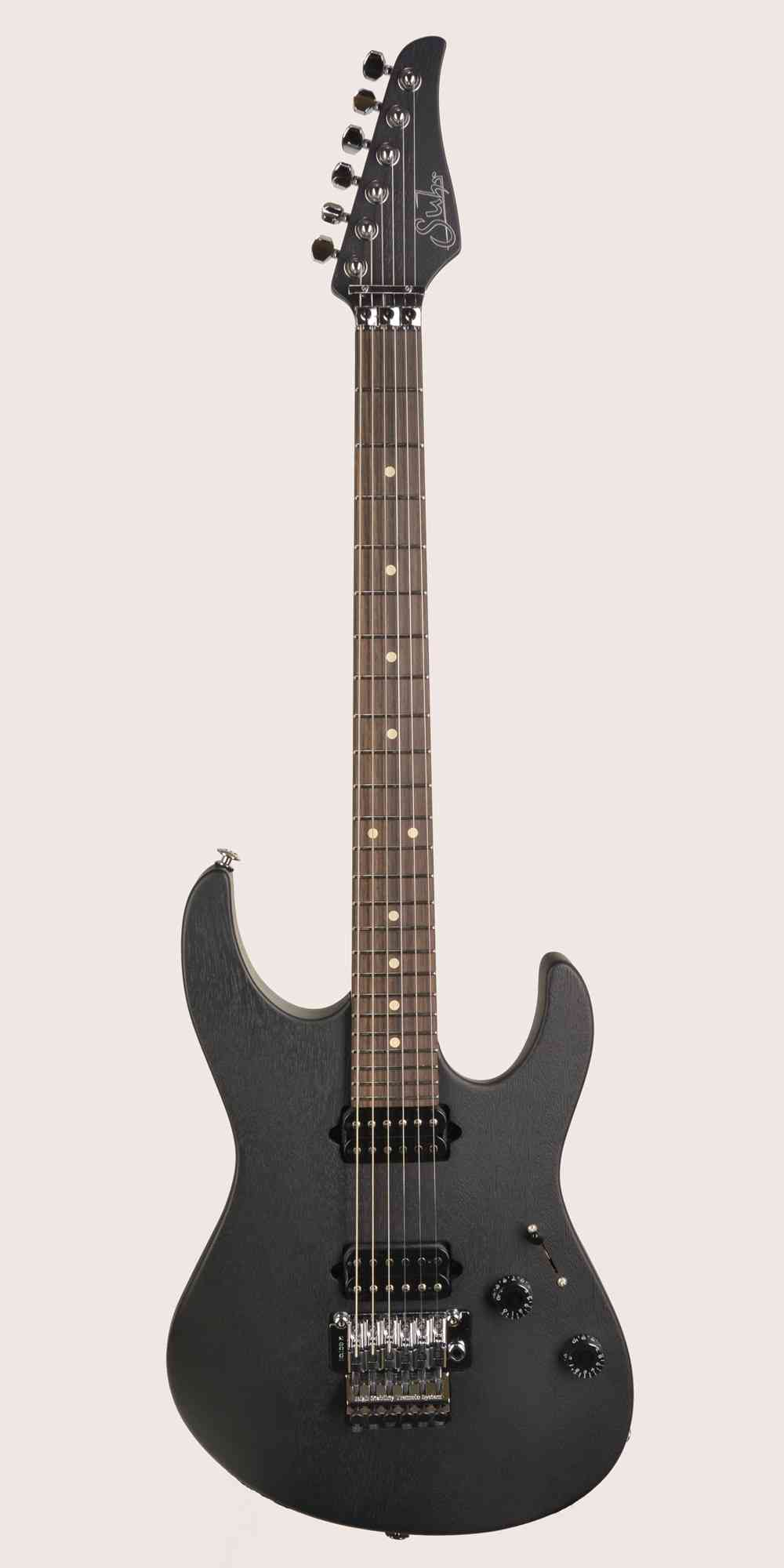 Suhr Modern Satin Pro  Black. Click to enlarge