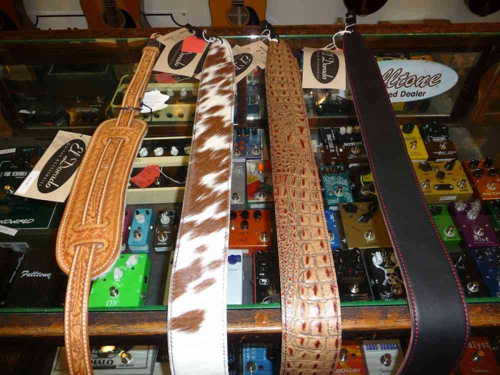 El Dorado Leather Straps- Variety  . Click to enlarge