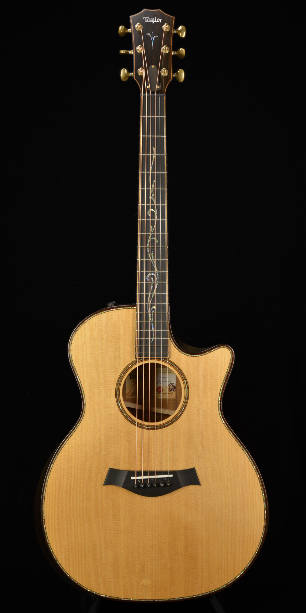 Photo of Taylor K14ce Builders Edition 2018 Natural