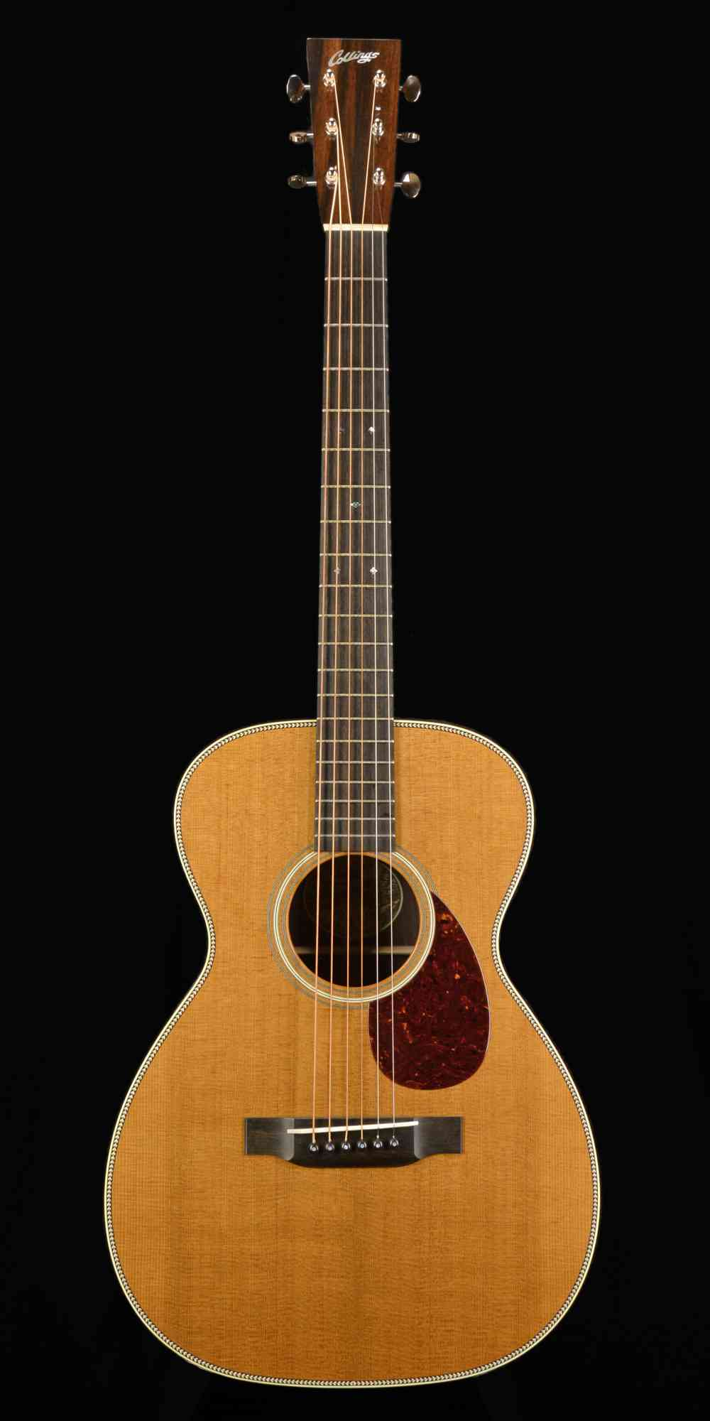 Front view of Collings 02H 2019 Natural