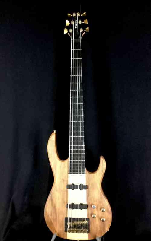 Photo of Carvin LB76 6 String Koa Bass