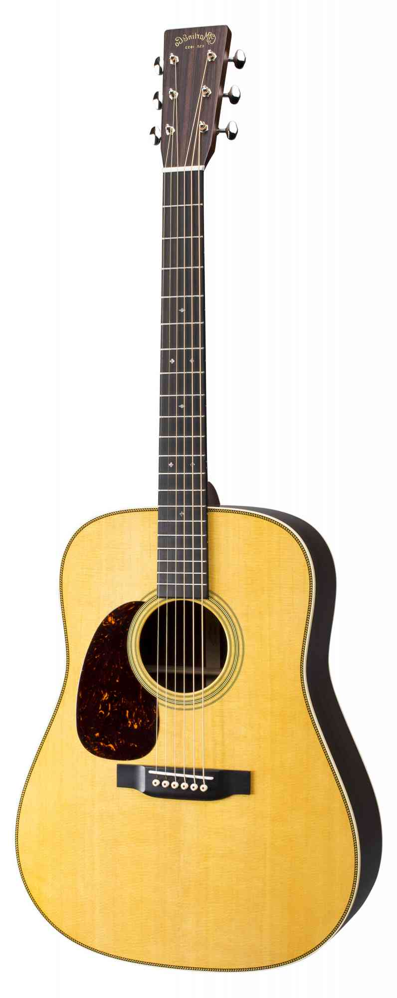 Martin HD-28 Left Handed  Natural. Click to enlarge