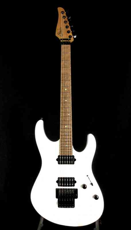 Photo of Suhr Modern Custom  Lexus Pearl White