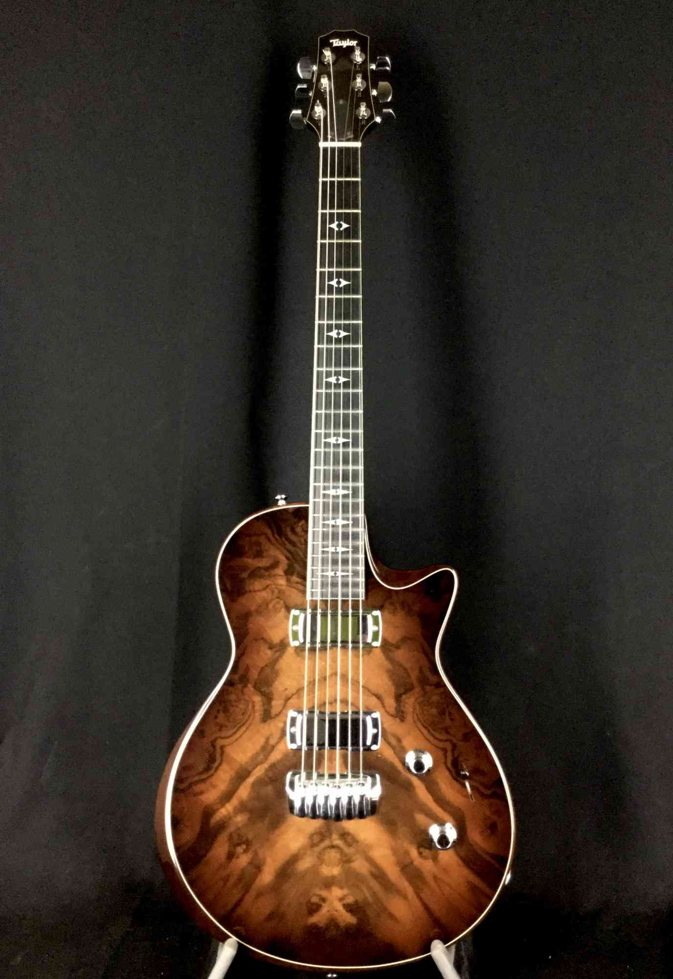 Front view of Taylor SBC-1 Custom Walnut Top 2007