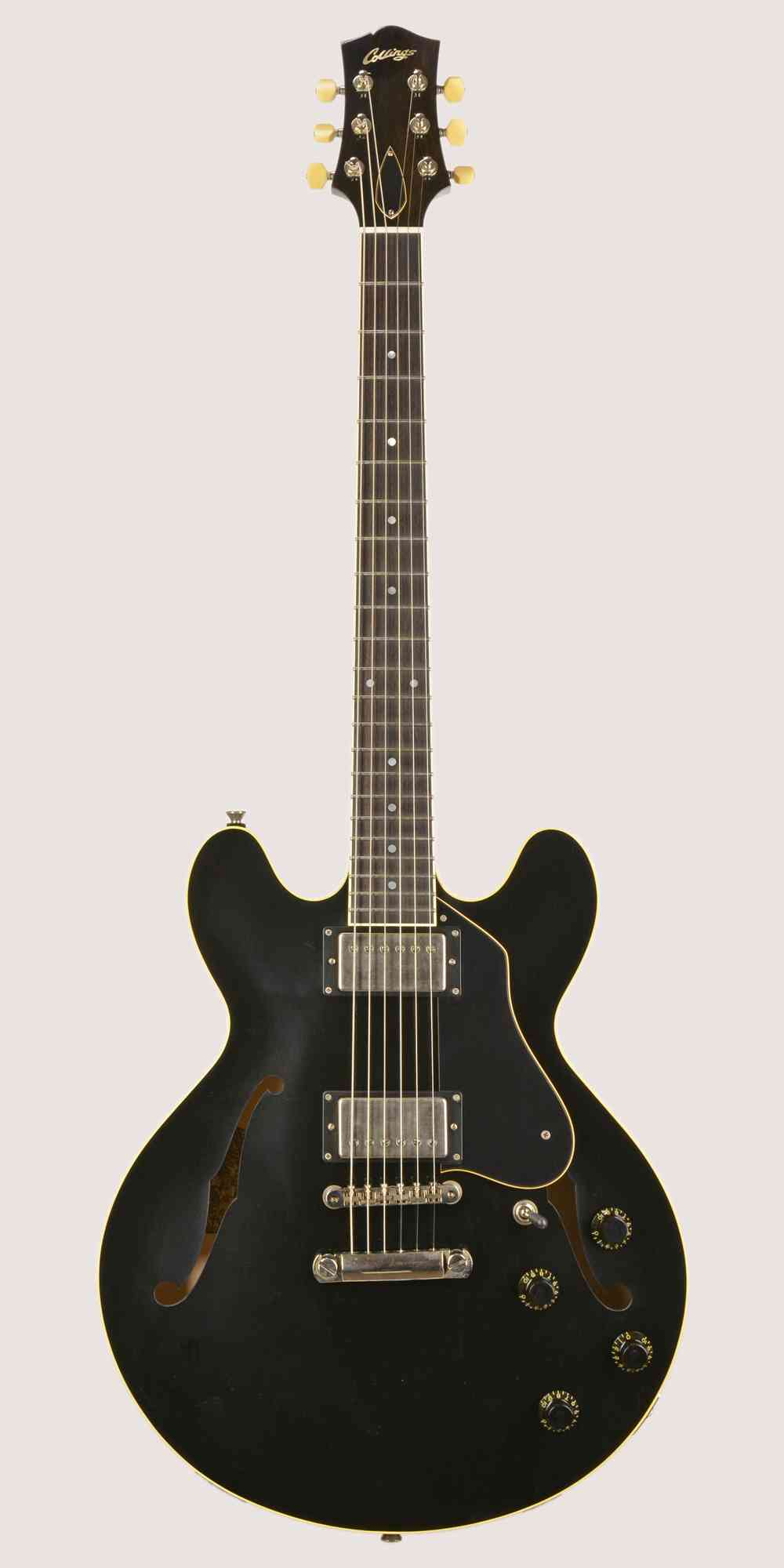 Collings I-35 LC 2019 Jet Black Aged. Click to enlarge