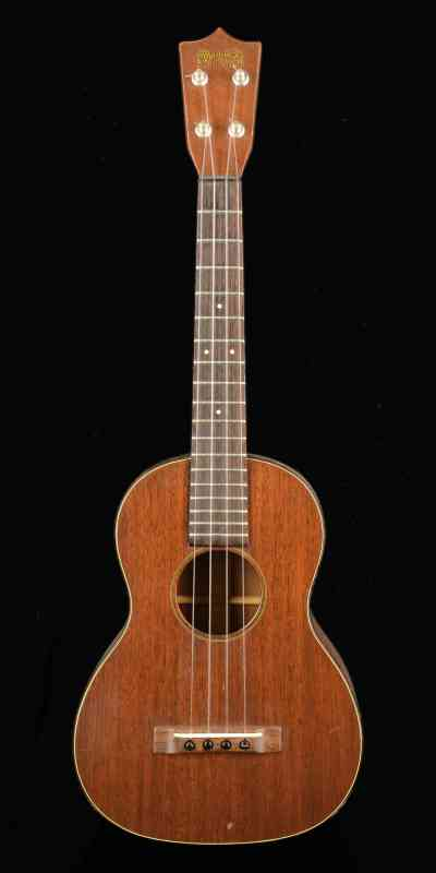 Photo of Martin 1T Tenor Ukulele Late 1950's Natural Mahogany
