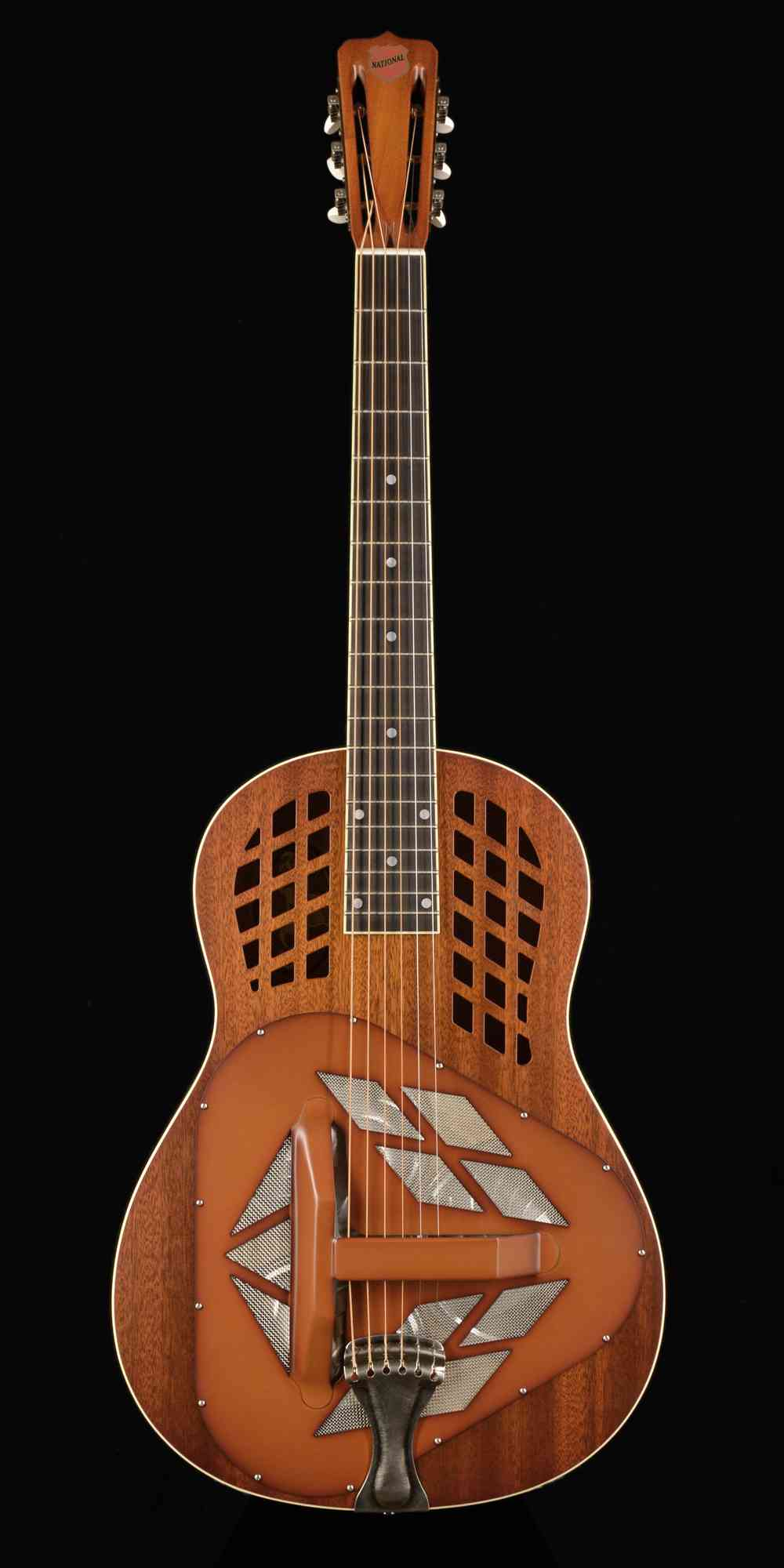 National M1 Tri Cone  Mahogany. Click to enlarge