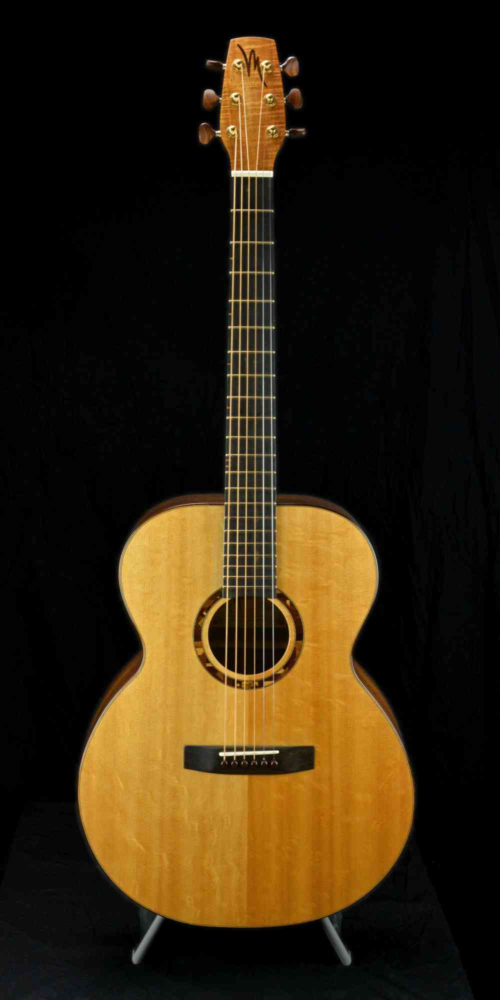 "Kevin Muiderman Jumbo ""Willy Porter"" Model 2013 Natural. Click to enlarge"