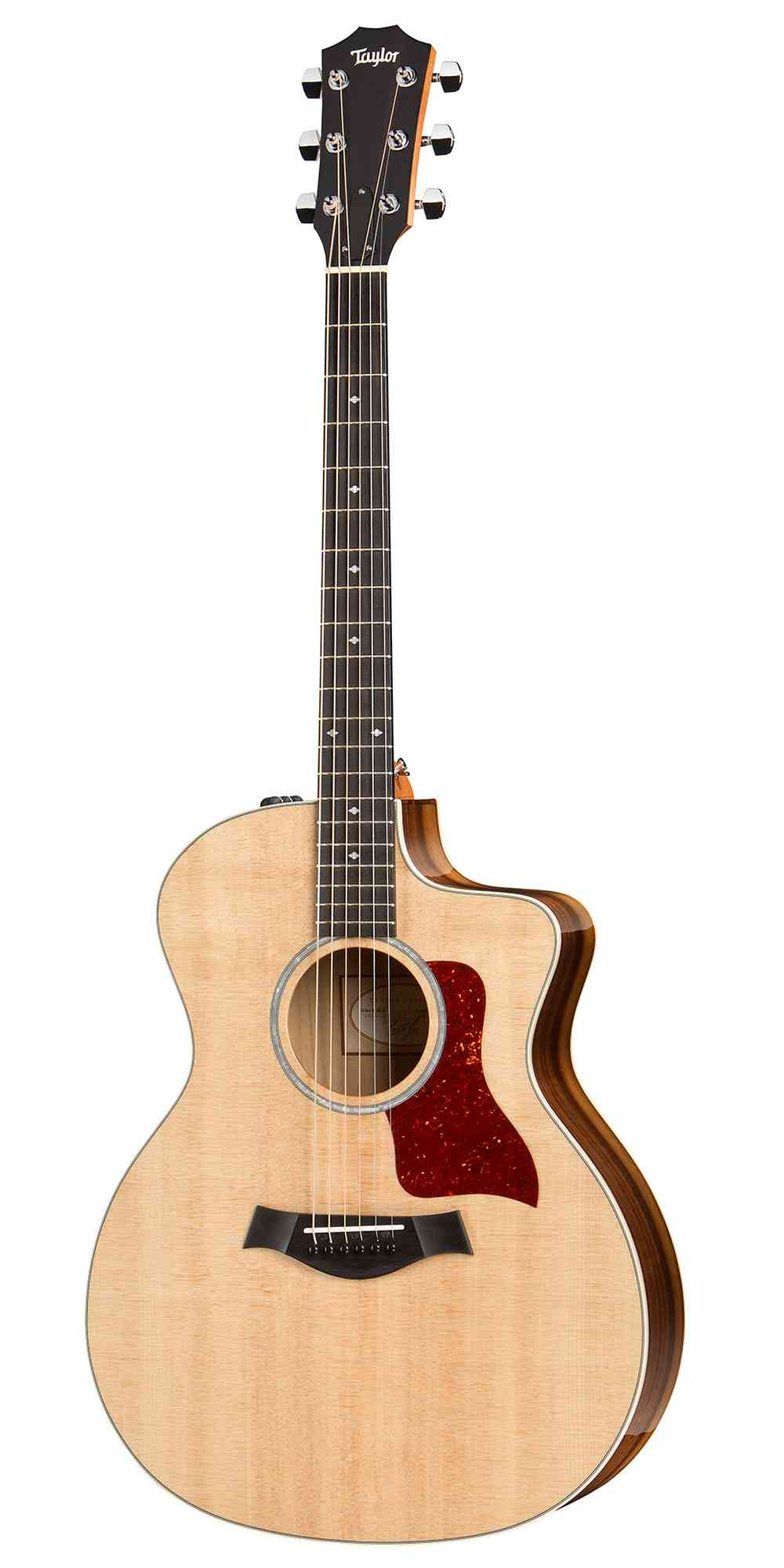 Taylor 214ce DLX  Natural. Click to enlarge