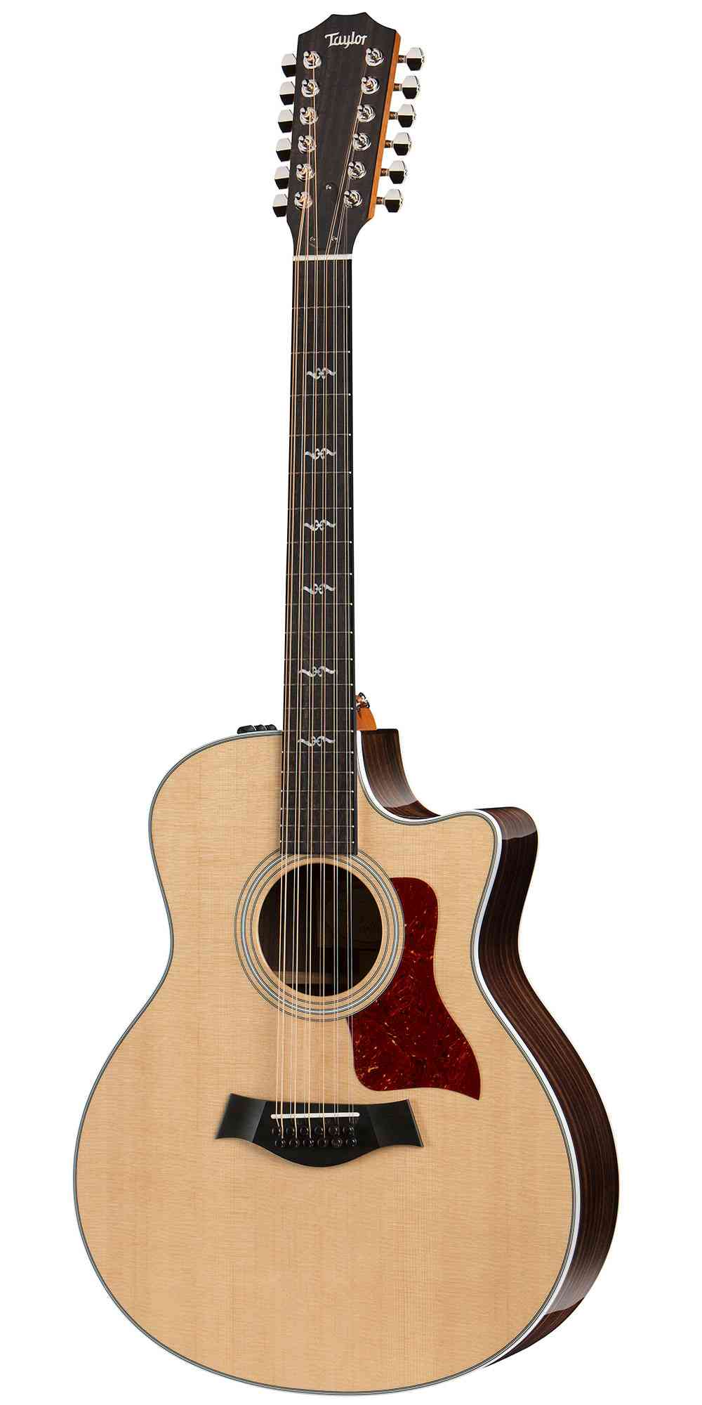 Taylor 456ce-R  Natural. Click to enlarge