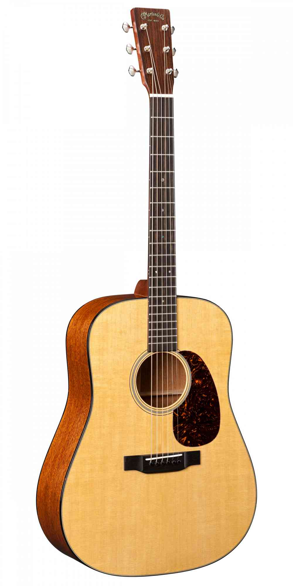Front view of Martin D-18  Natural