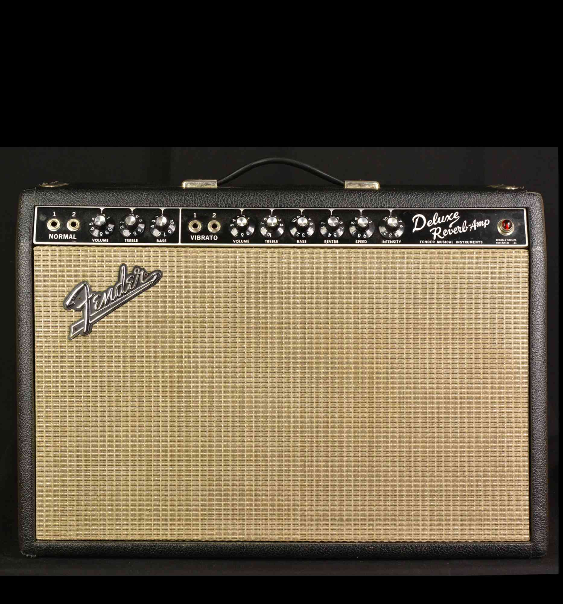 Fender Deluxe Reverb 1966 Black. Click to enlarge