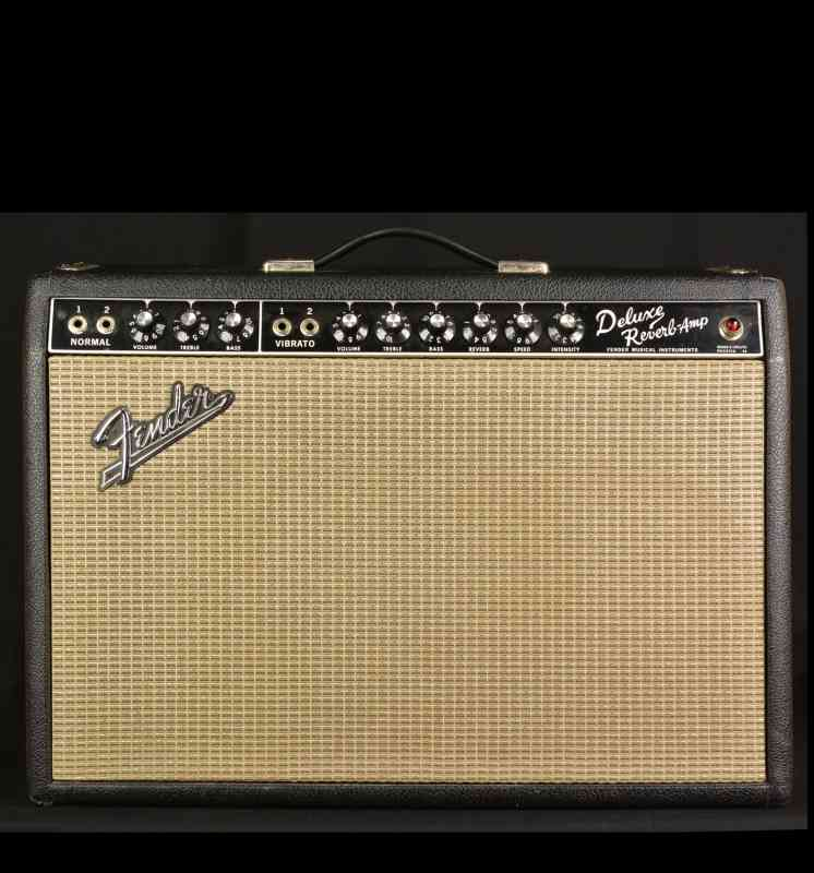 Photo of Fender Deluxe Reverb 1966 Black