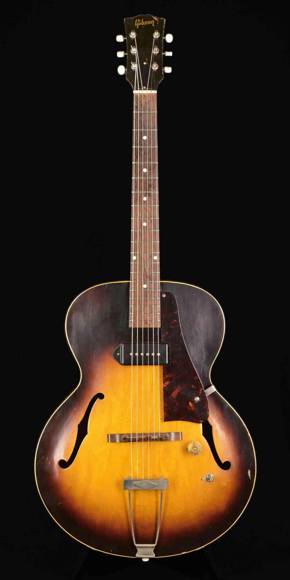 Gibson ES-125 1954 Sunburst. Click to enlarge