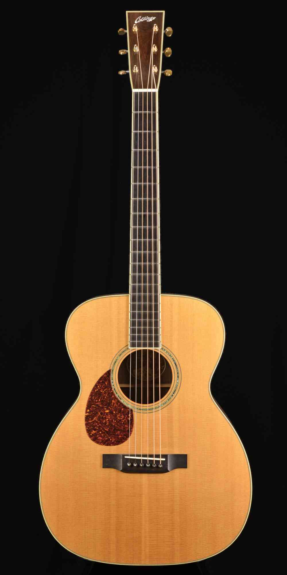 Front view of Collings OM3 L 1998 Natural
