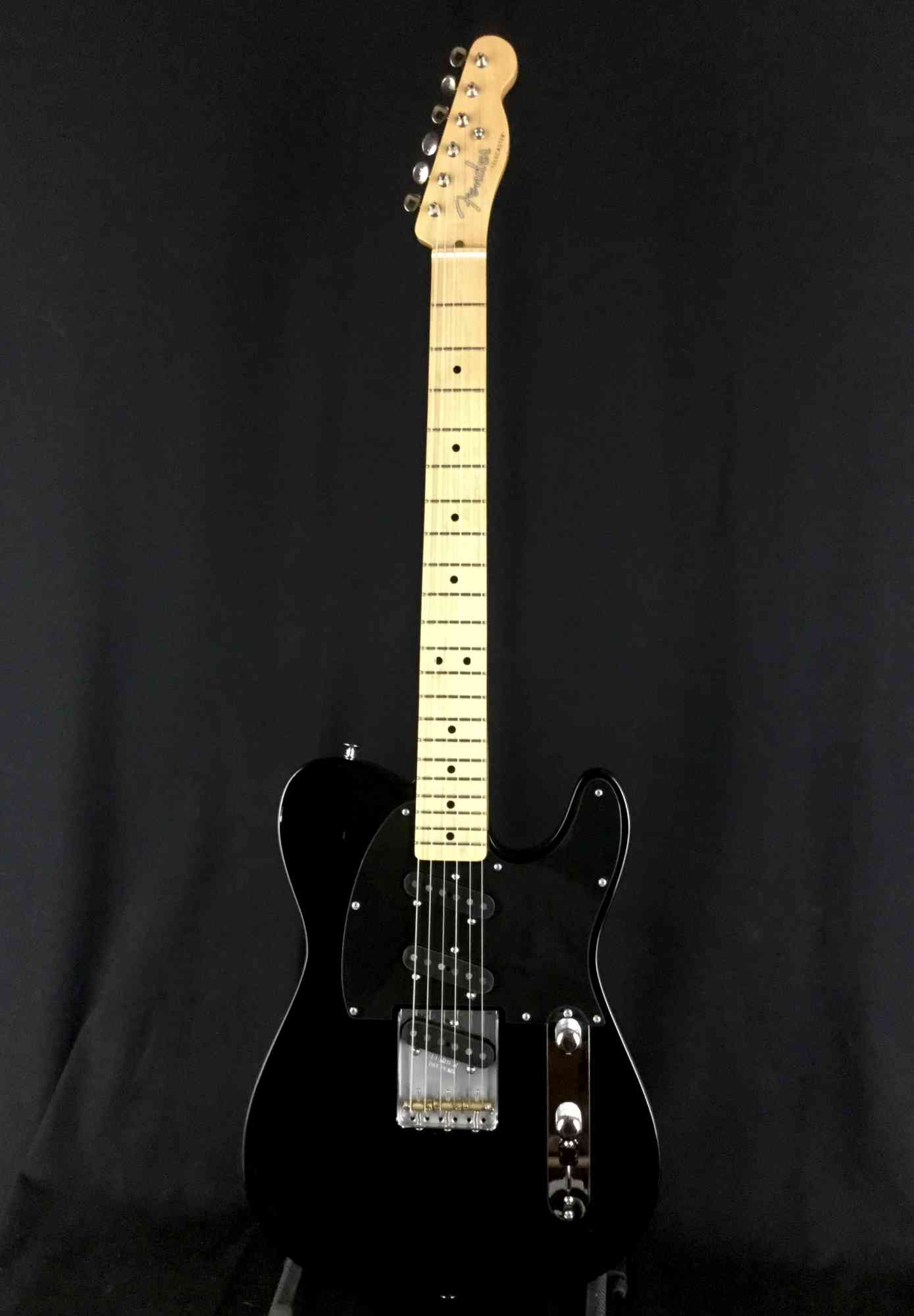 Front view of Fender Classic Player Triple Tele  Black