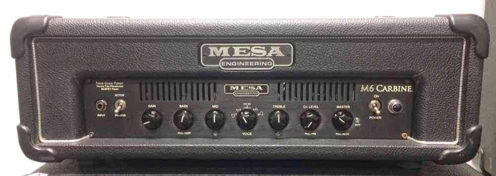 Mesa M6 Carbine Bass Amp  . Click to enlarge
