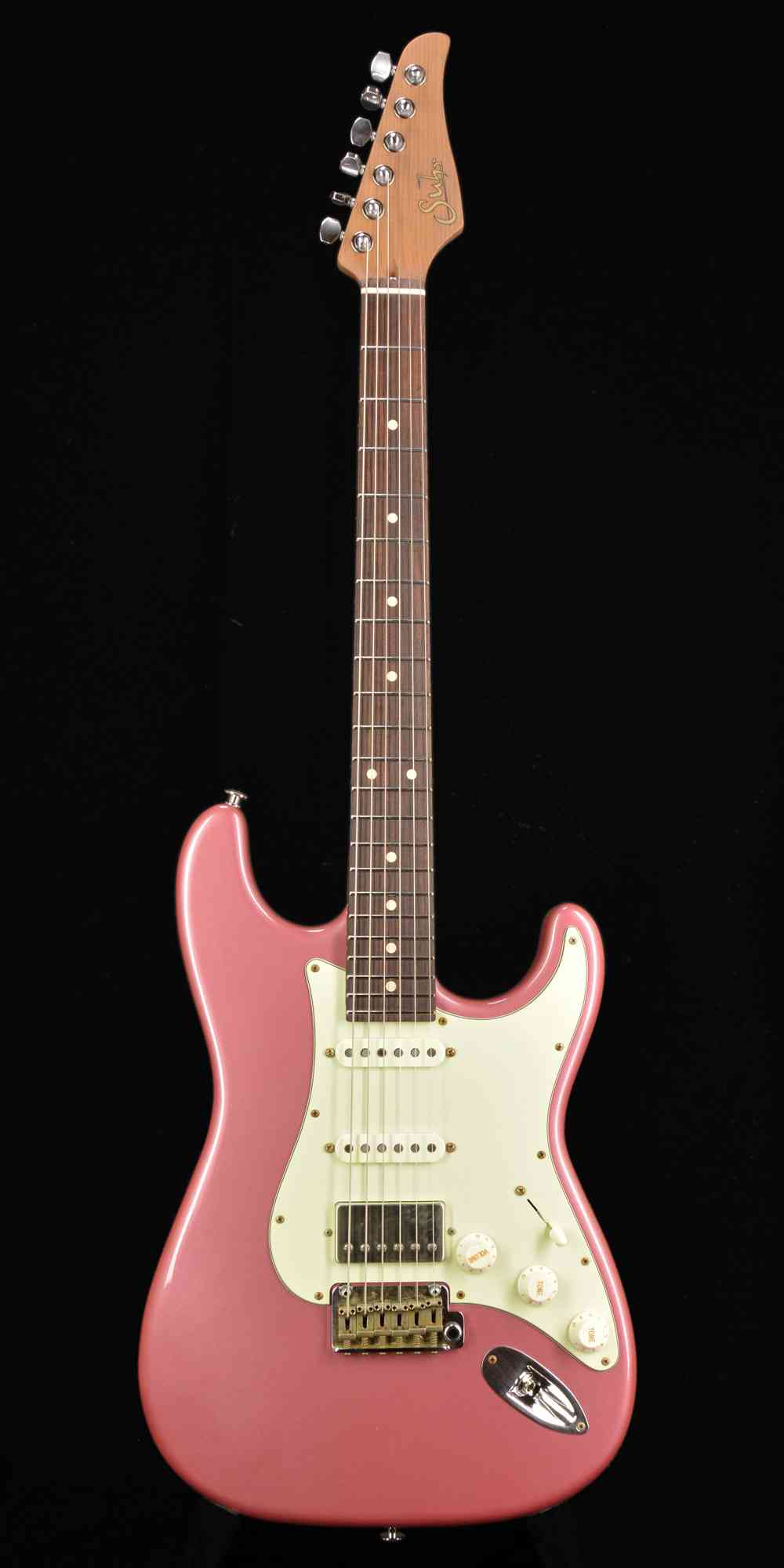 Suhr Classic Antique Limited Run  Burgundy Mist. Click to enlarge