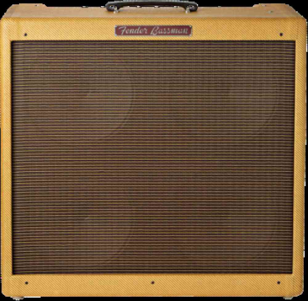 Fender Bassman Re-issue  Tweed. Click to enlarge