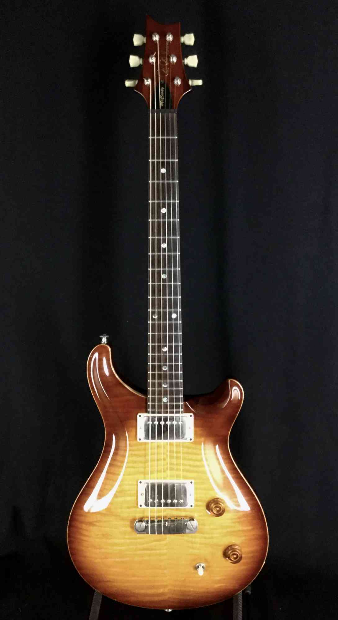 Paul Reed Smith McCarty 1998 Tobacco Sunburst. Click to enlarge