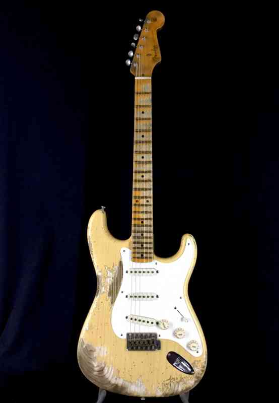 Photo of Fender Custom Shop Namm LTD Stratocaster 2018 Nocaster Blonde