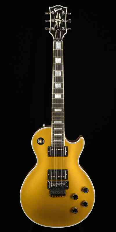 Photo of Gibson Les Paul Custom Floyd Rose 2015 Gold Top