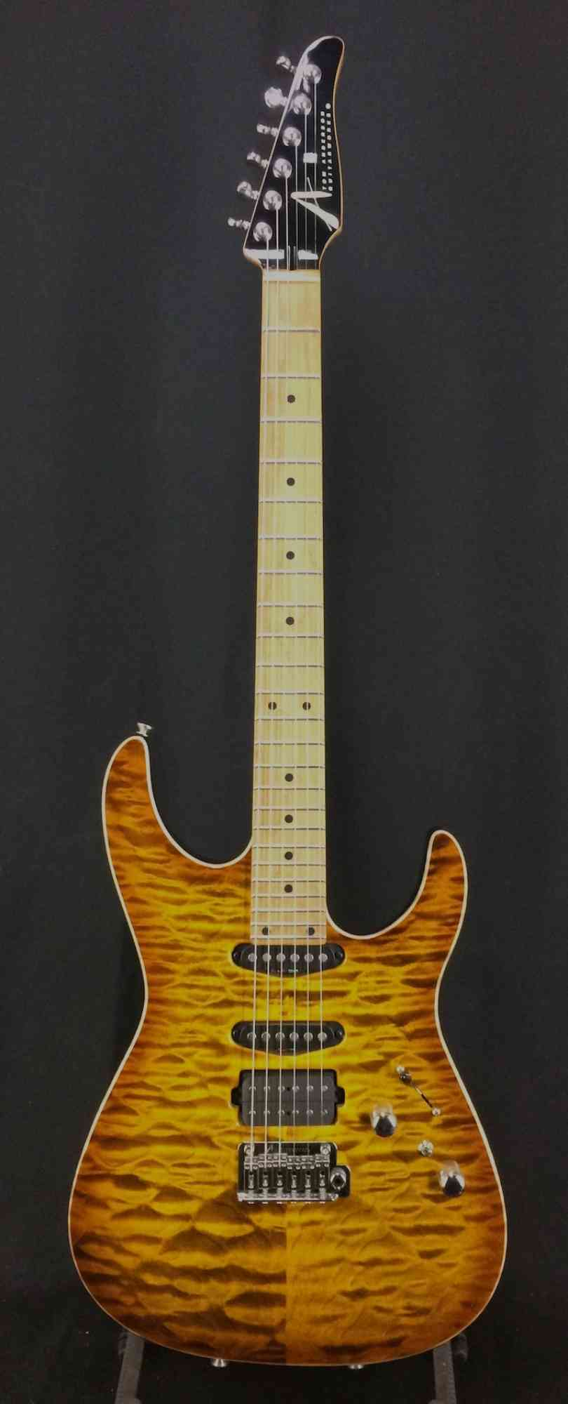 Front view of Tom Anderson Angel  Deep Tobacco Fade