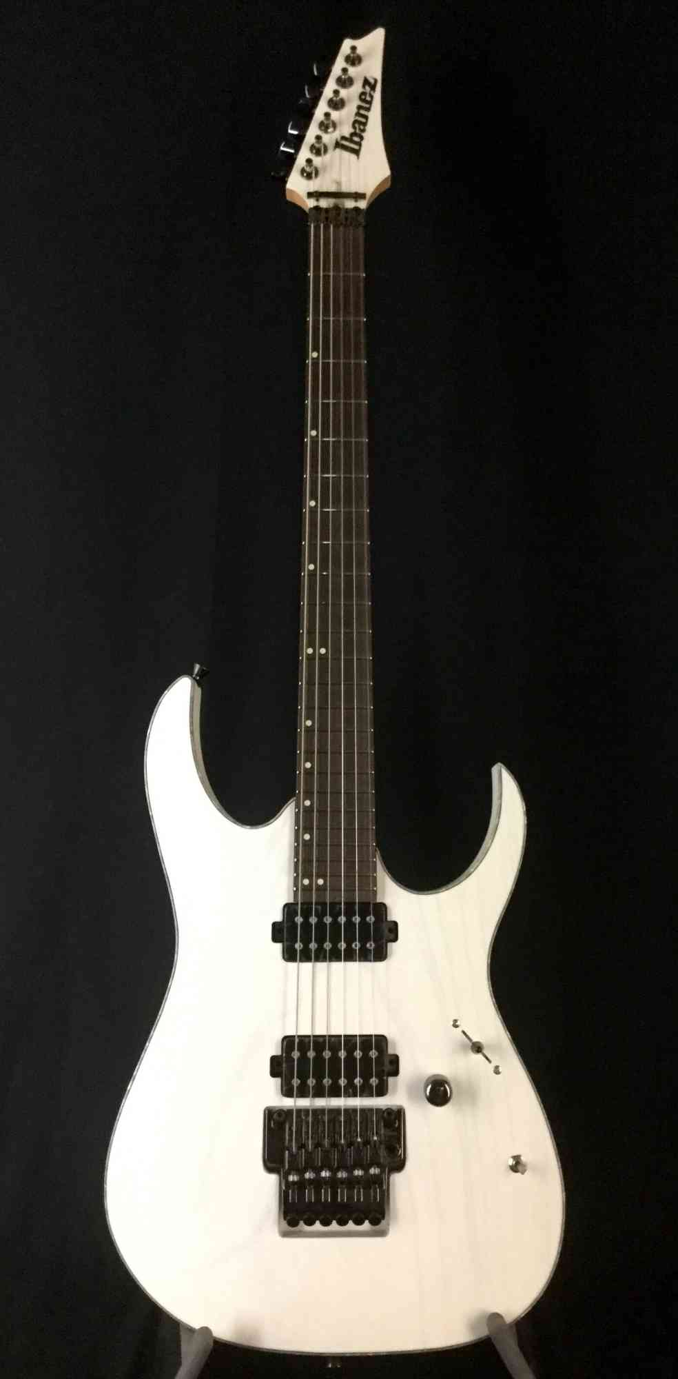 Ibanez Custom Shop  Trans White. Click to enlarge