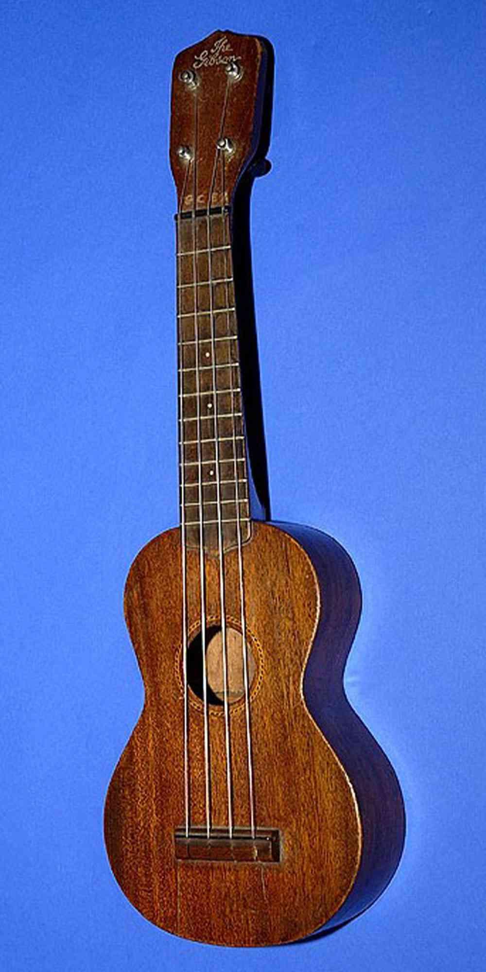 Gibson Style 1 Ukulele. Click to enlarge