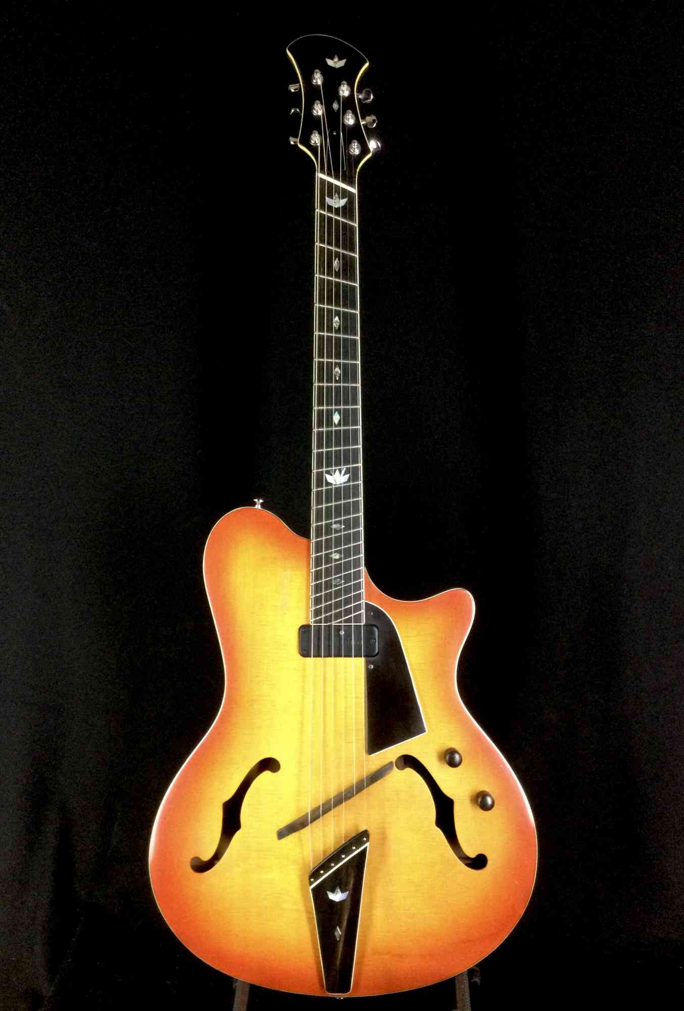 Novax Slimline Jazz 2012 Sunburst. Click to enlarge