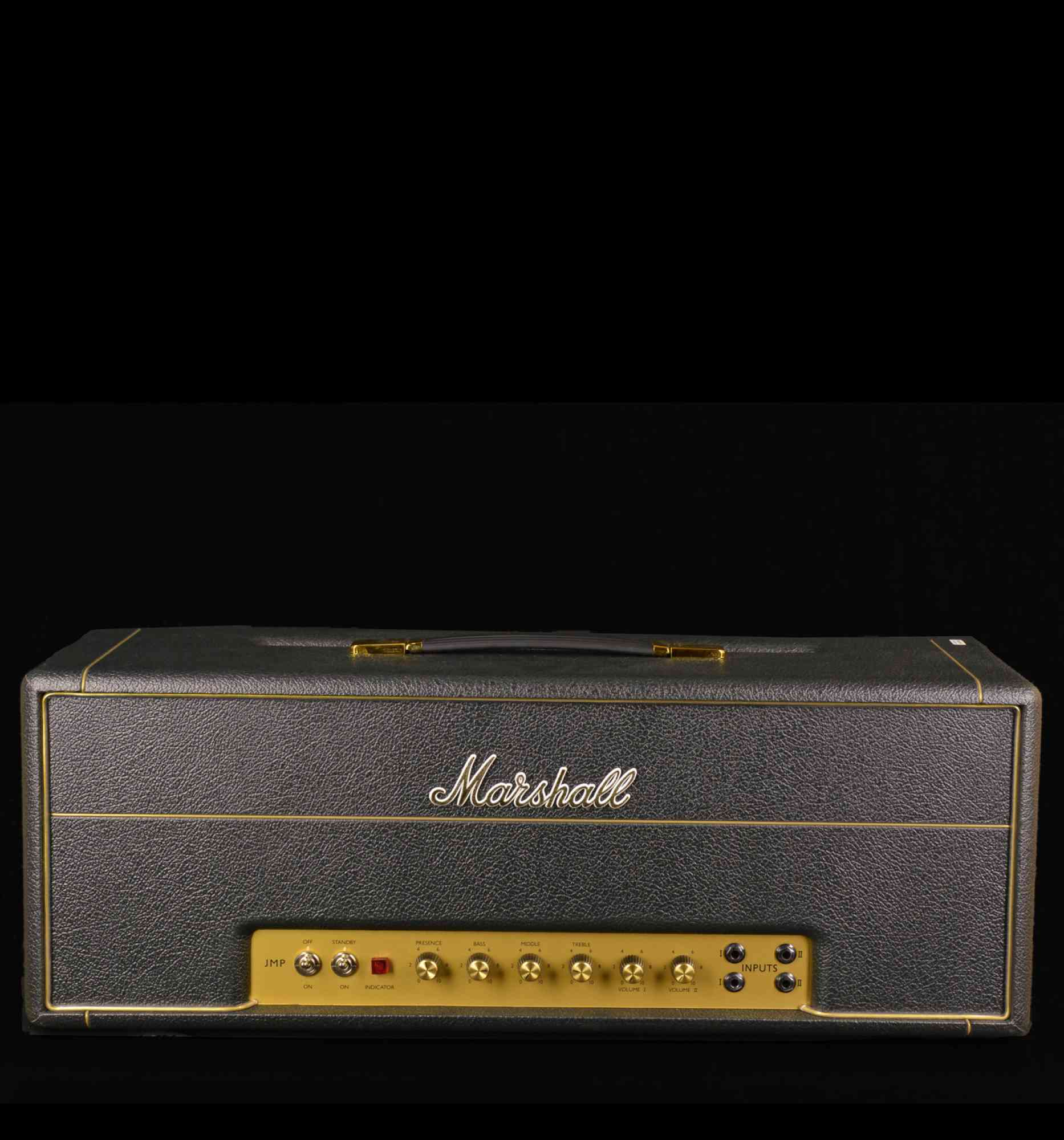 Marshall Super Lead 100  -  1959 HW 2018 black. Click to enlarge