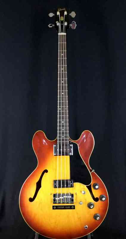 Photo of Gibson EB2-D 1969 Sunburst