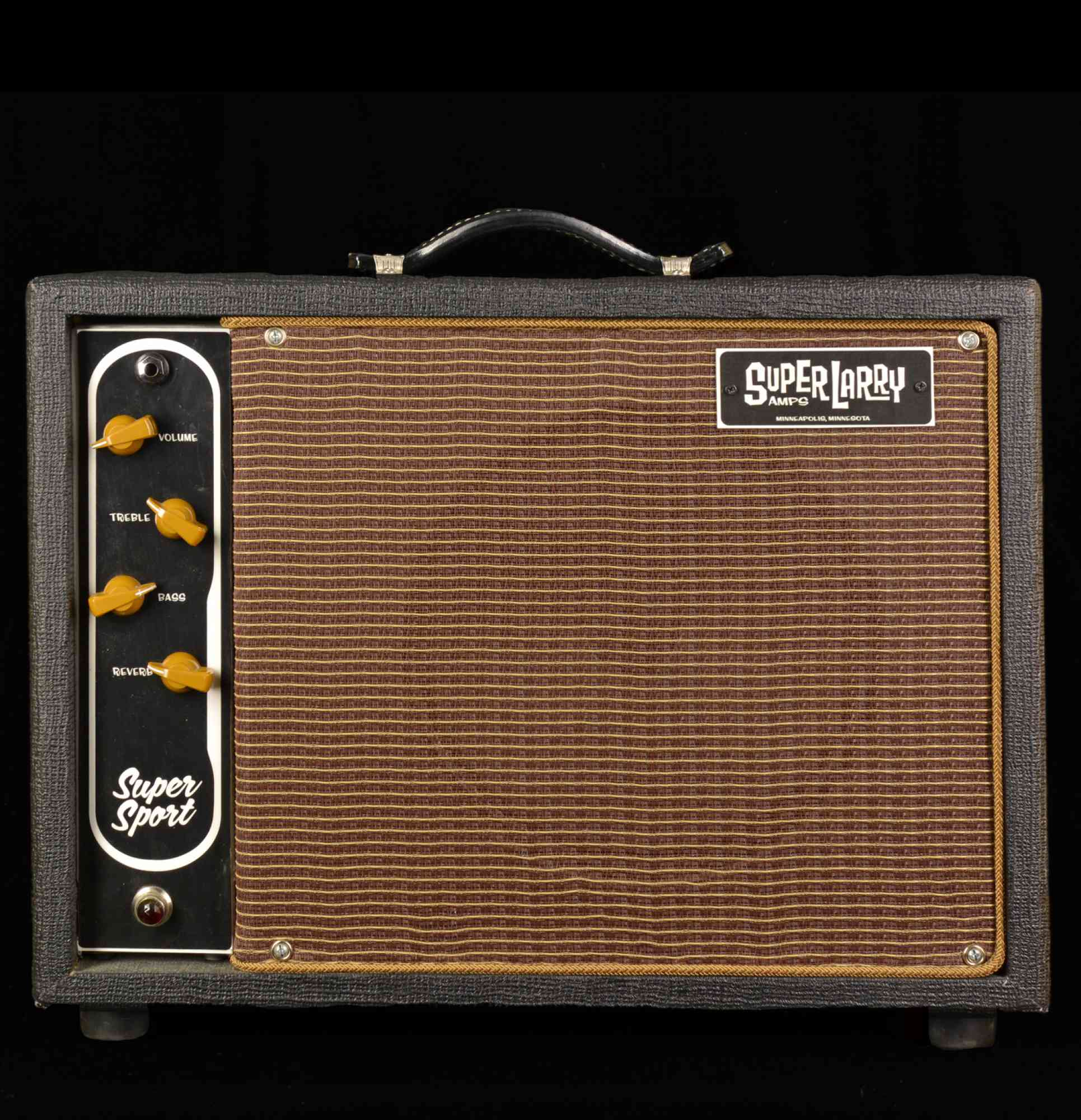 Super Larry Super Sport 2012 Black Tolex. Click to enlarge