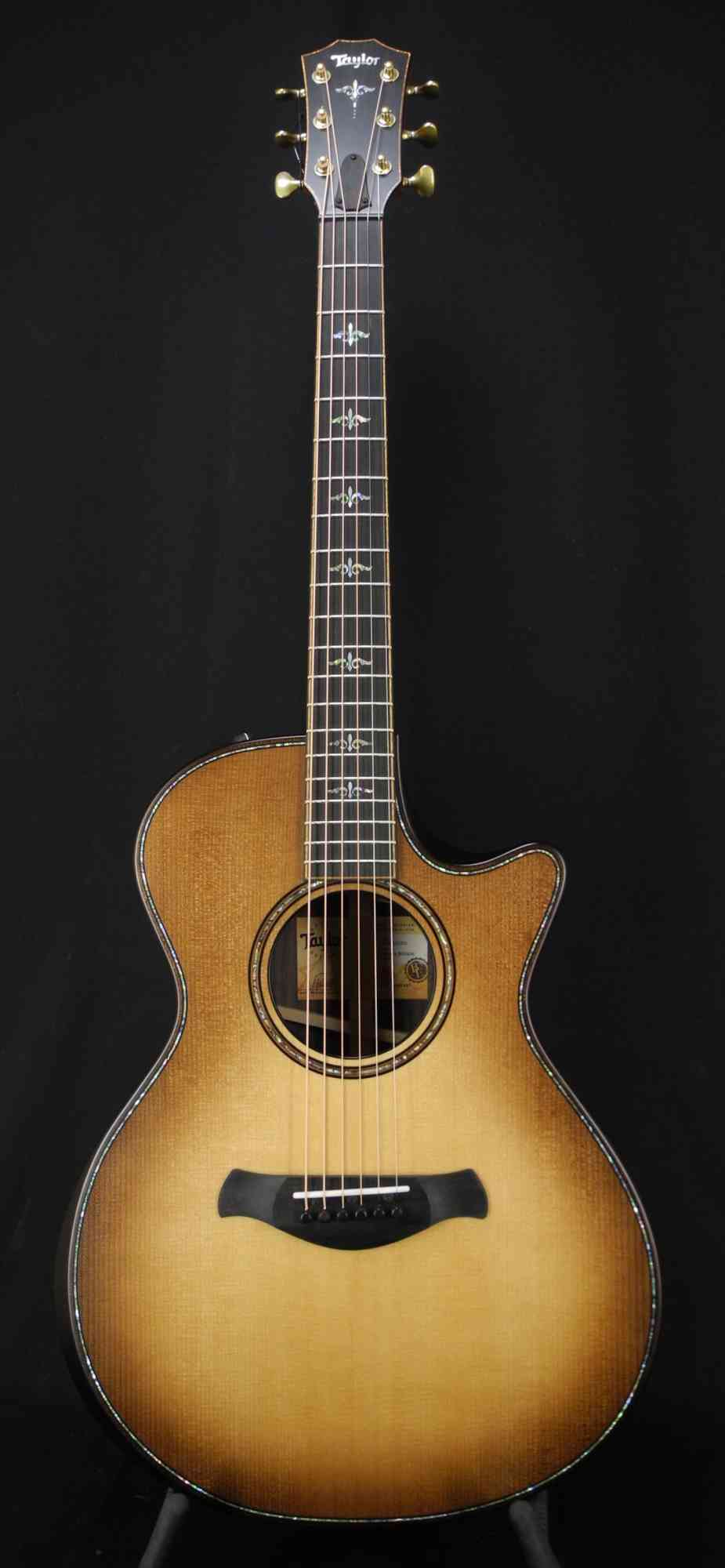 Taylor 912ce Builders Edition  Wild Honey Burst. Click to enlarge
