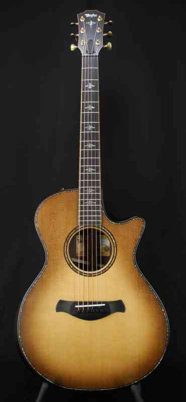Photo of Taylor 912ce Builders Edition  Wild Honey Burst