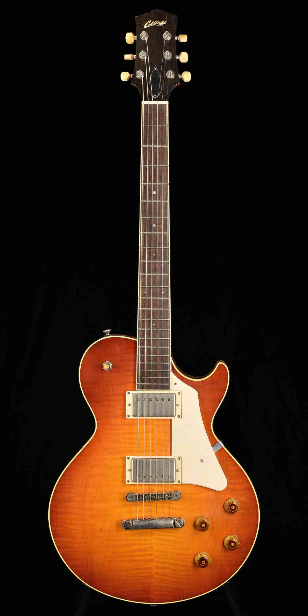 Collings City Limits - Aged Finish 2015 Brock Burst. Click to enlarge