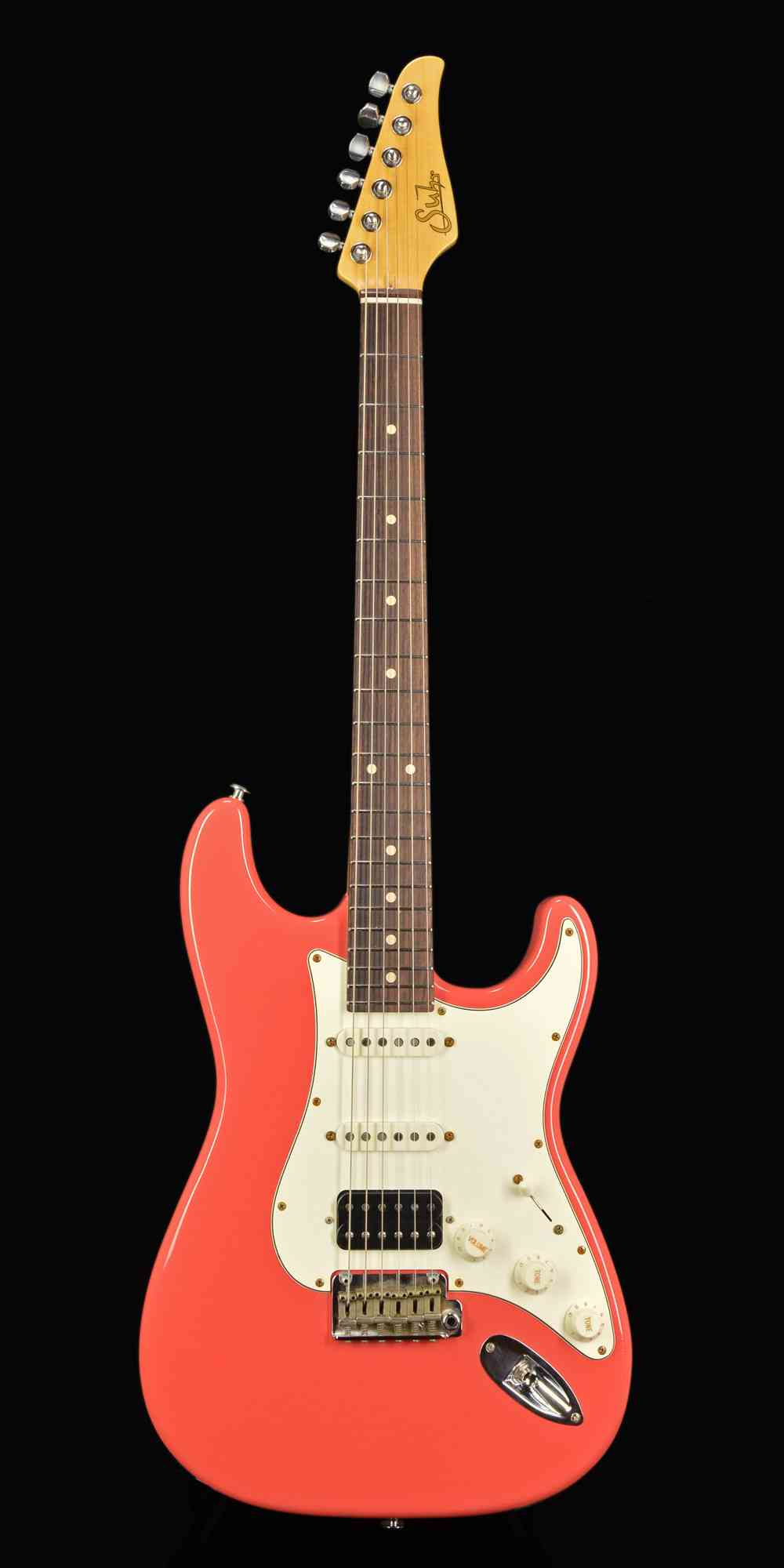 Suhr Classic Antique  Fiesta Red. Click to enlarge