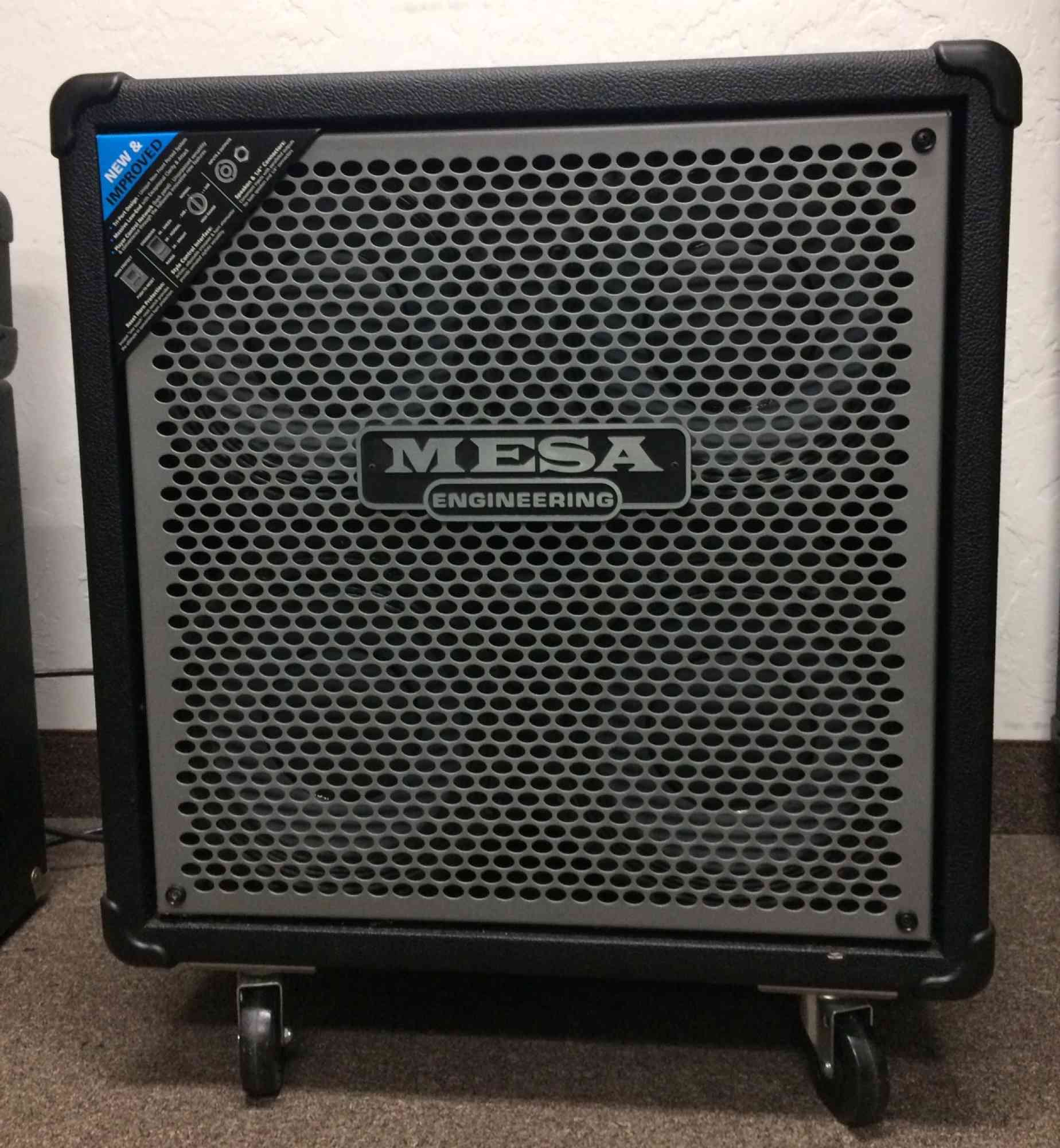 Mesa 4 x 10 Bass Cabinet  . Click to enlarge