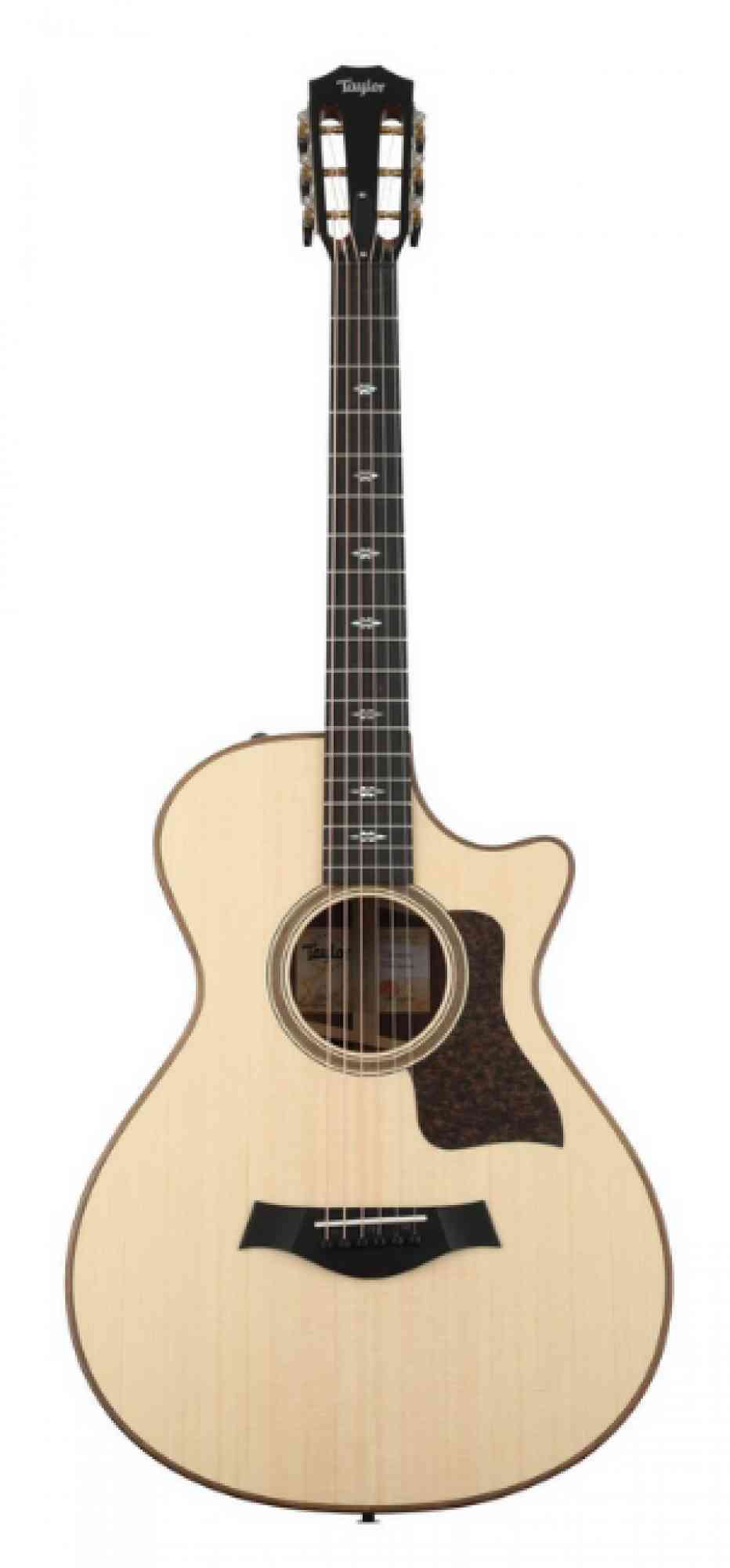 Front view of Taylor 712ce-N  Natural
