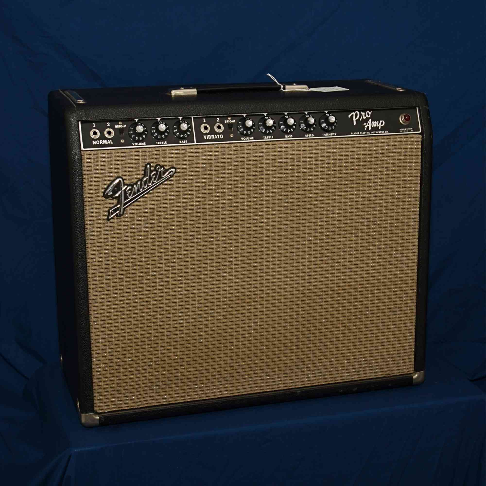 Fender Pro Amp '65 blackface. Click to enlarge
