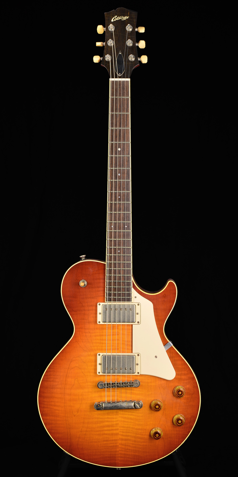 Photo of Collings City Limits - Aged Finish  Aged Amber Sunburst