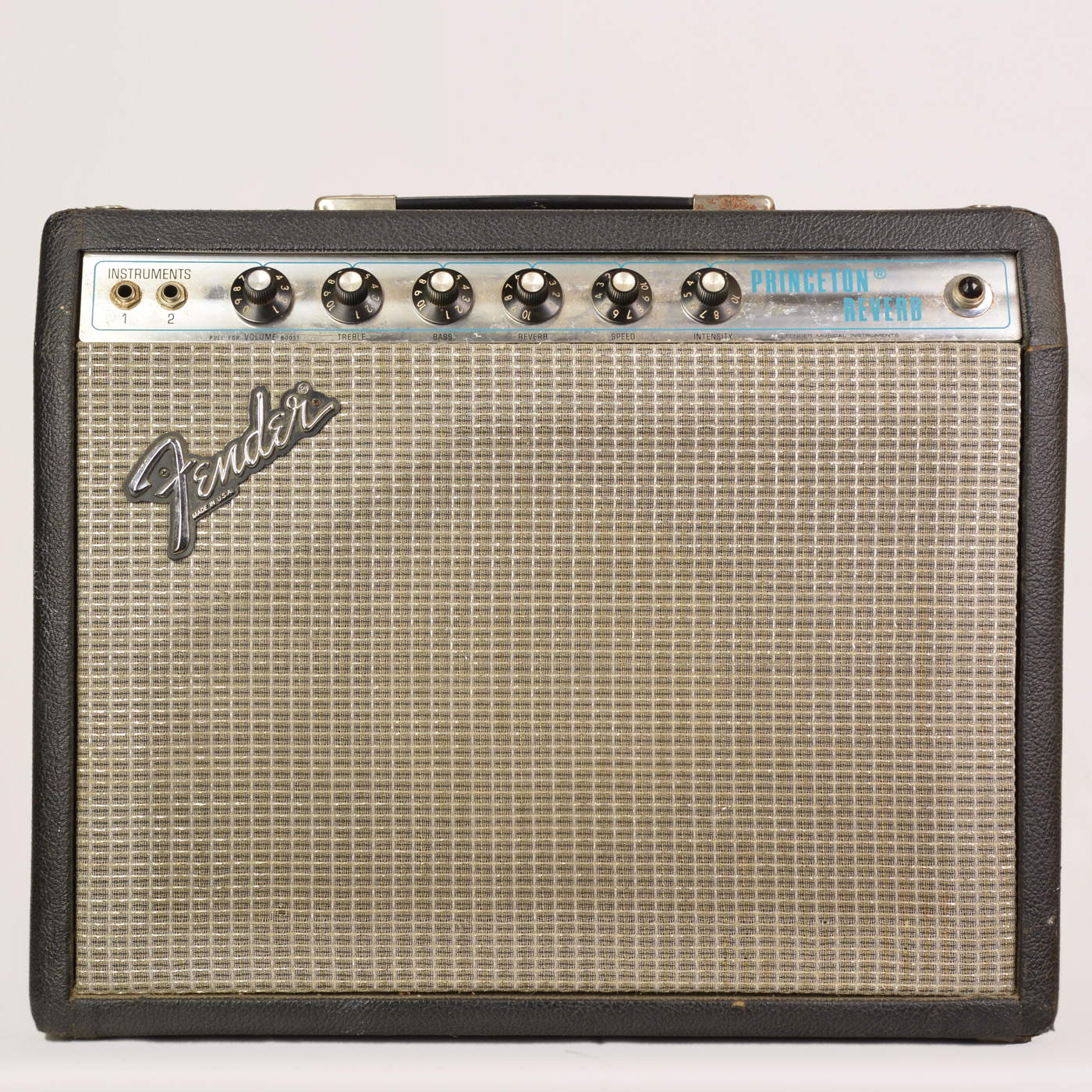 Photo of Fender Princeton Reverb 1979 Black Tolex